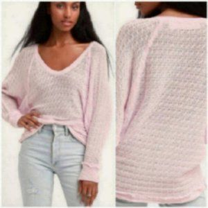 NWT Free People Top gypsy knit sweater